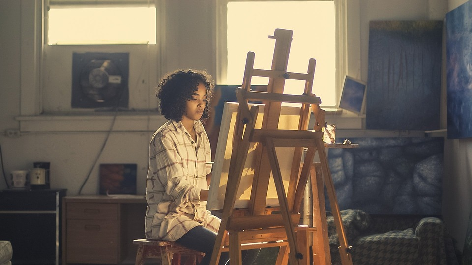 chevalet de peinture