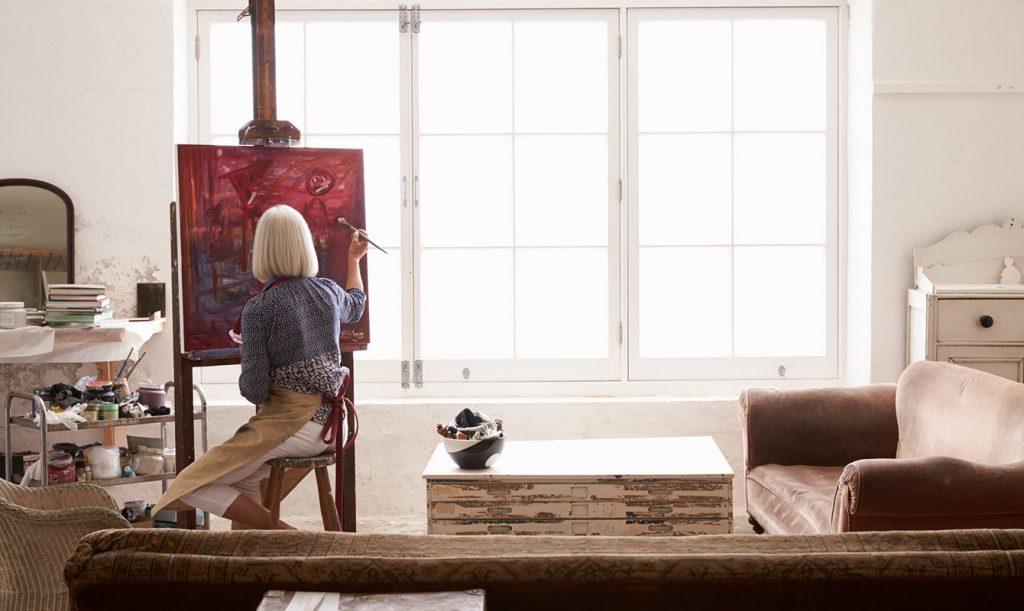 bien choisir son siège pour peindre